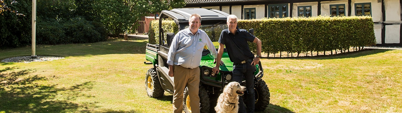 Commercial Mowing, Gator Utility Vehicles, Dealer, Customer, Garden