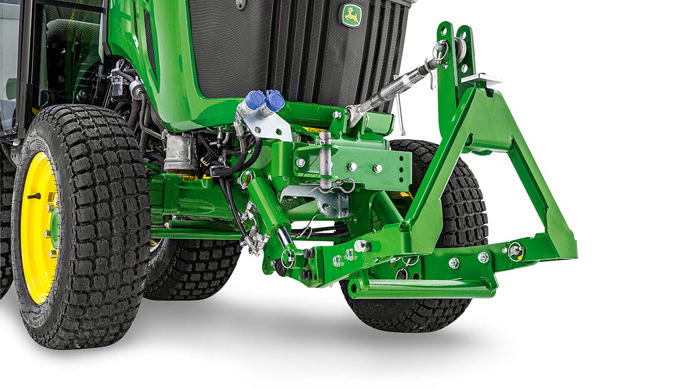 John Deere Lift and towing hitches for small tractors